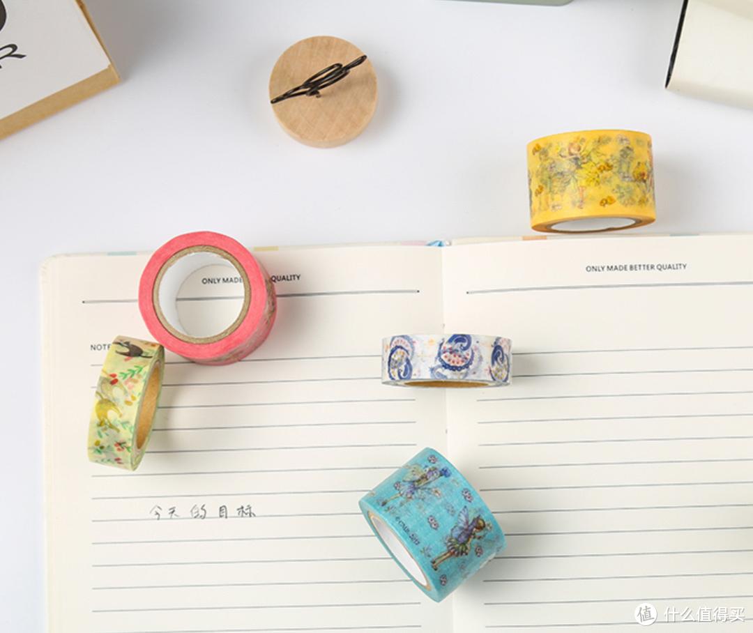 胶带也能卖这么贵? 做手账,做装饰,这么多可爱的和纸胶带你值得拥有!