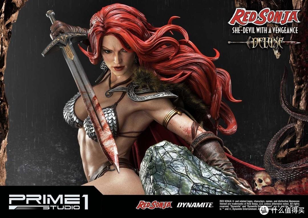 Prime 1 Studio《女王神剑》索尼娅 1/3比例雕像开箱