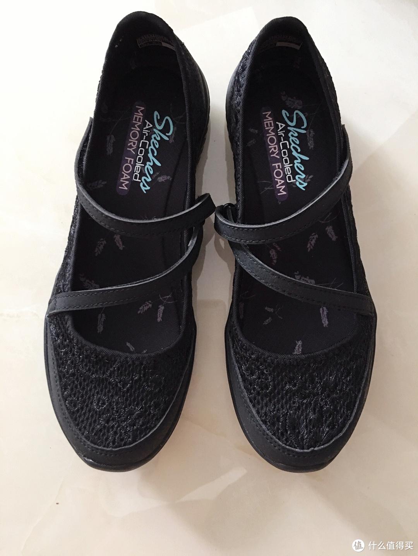 精致蕾丝 复古优雅 初秋送给母亲大人的斯凯奇玛丽珍休闲鞋