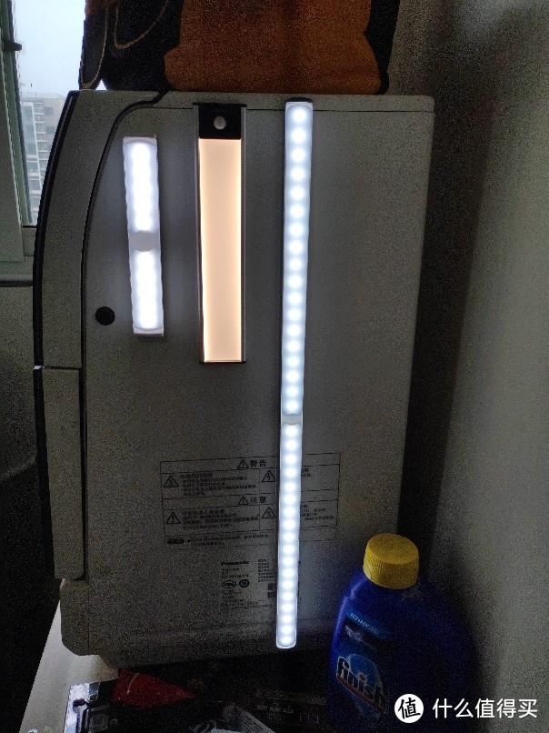 618入手的感应灯简单对比