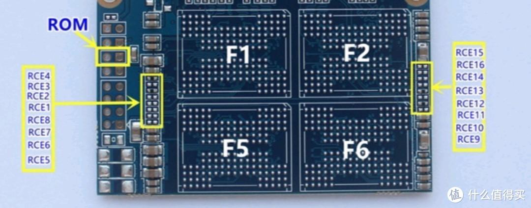 第二步,贴跳线电阻,1T全贴单数,储存颗粒贴f1-4