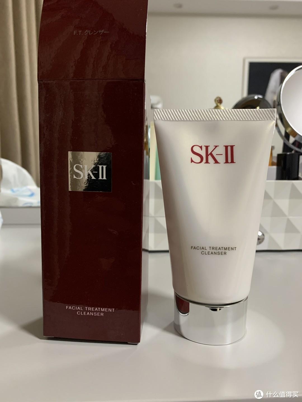 SK-II洗面奶,用过多款洗面奶后最终选择的洗面奶