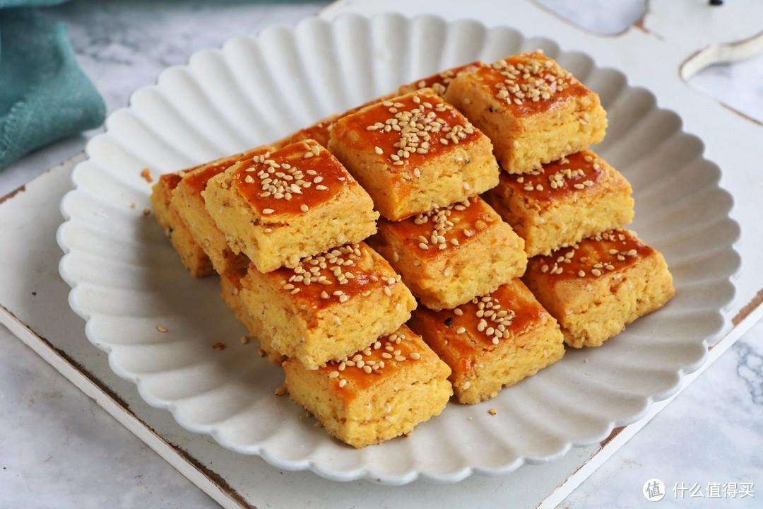 这种粗粮小饼干,不要黄油和猪油