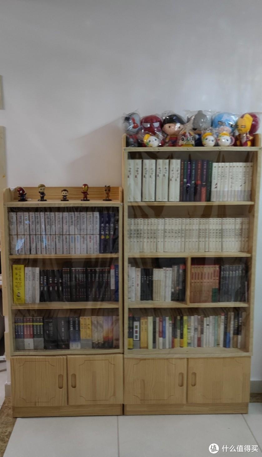 目前家里的小书柜情况一览