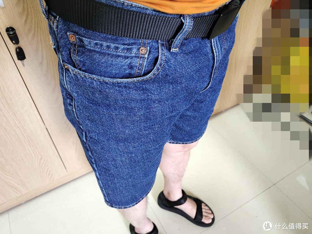 夏日基础款,Levi's 牛仔短裤 入手体验