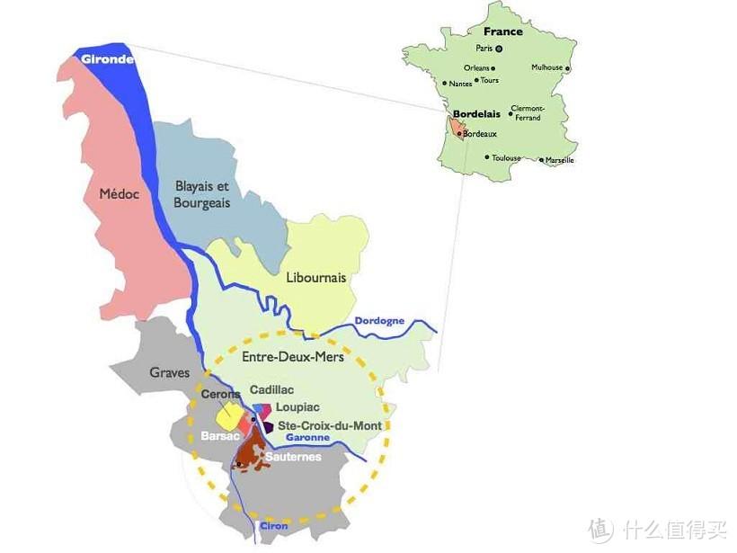 圣十字山是波尔多第二好的贵腐酒产区,但相比苏岱-巴萨克还是有很大差距,不过便宜,一百出头还是能下手
