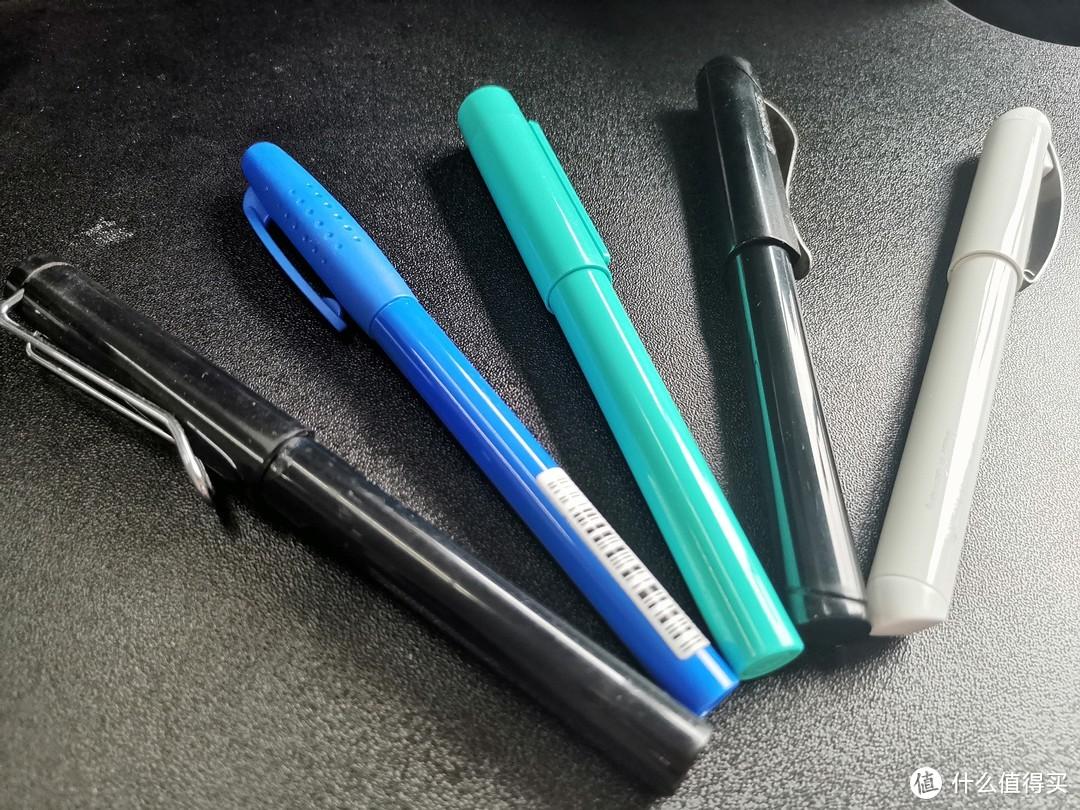 5支百元内钢笔使用感受对比