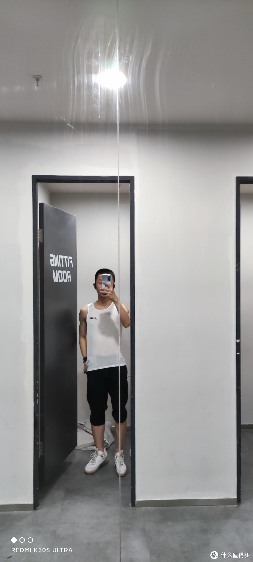 全民洞洞背心——李宁2021款竞速背心试穿