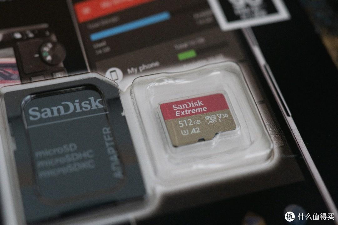 闪迪Extreme 512G TF卡