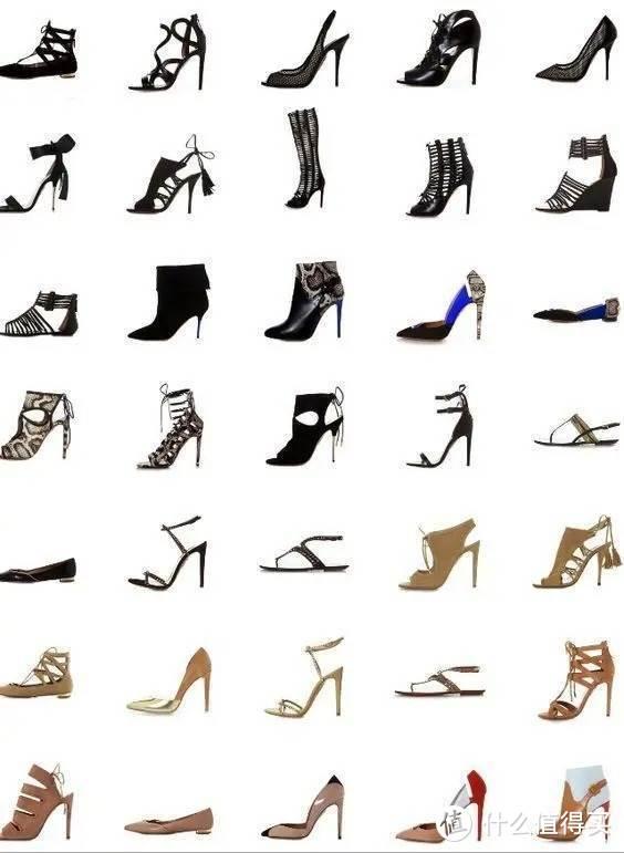 设计师谈高跟鞋选购与搭配,全自拍,多图预警,海外购鞋子推荐