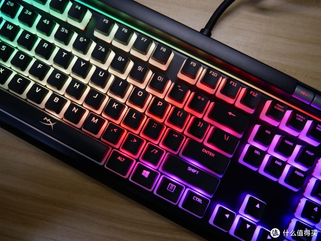 布丁键帽可以多好看——HyperX 阿洛伊精英2机械键盘