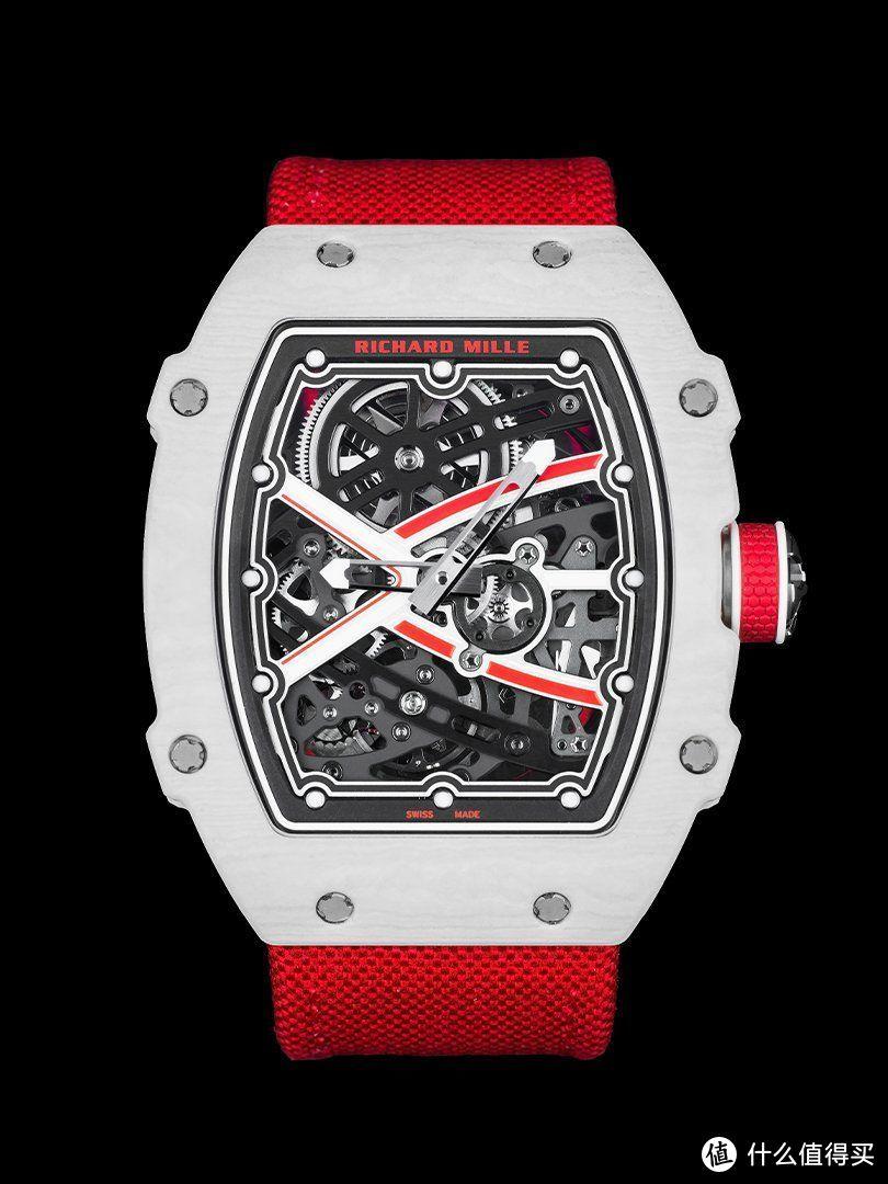 2021Only Watch 里查德米尔RM 67-02夏尔·勒克莱尔原型腕表