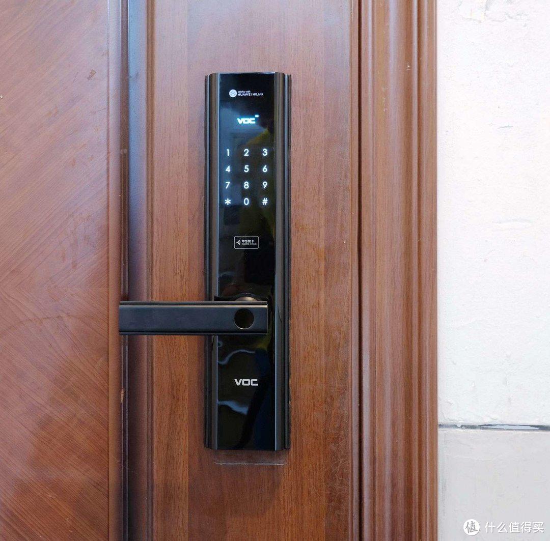 本楼道第一把指纹锁-华为智选 VOC智能门锁S-体验分享
