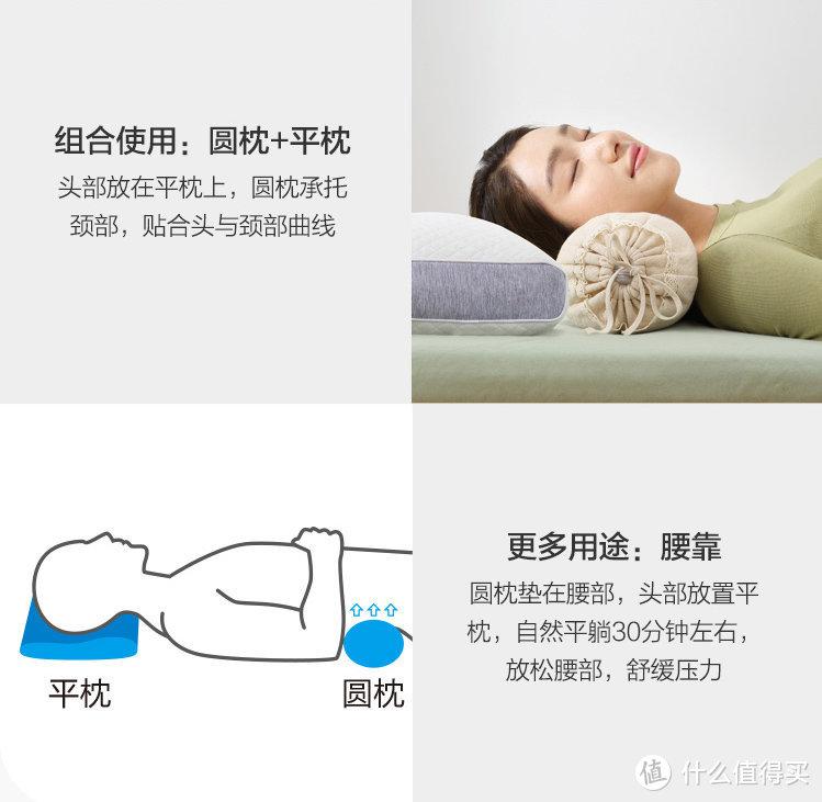 荞麦枕爱好者可入:佳佰草本荞麦颐养枕,科学分区,苦荞怡心,安心睡好觉