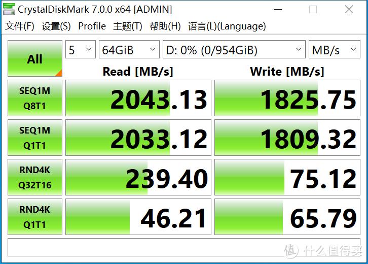 PCIe3.0固态硬盘速度