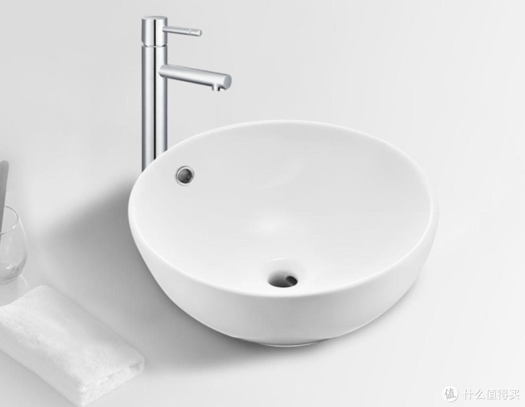 摩恩陶瓷台上洗手盆——易洁釉面更耐用,三款造型可选