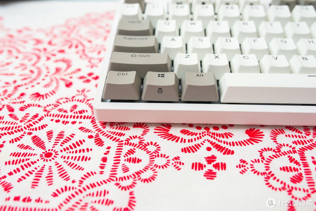 码字效率大大提升,提高你的生产力!杜伽K310 Cherry银轴机械键盘~