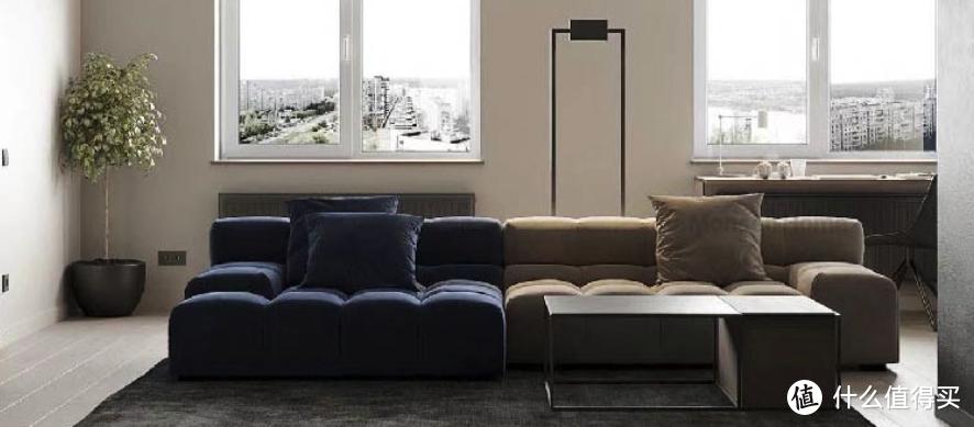 舒适美貌的模块化沙发,像积木一样灵活,大客厅、小客厅都能用!