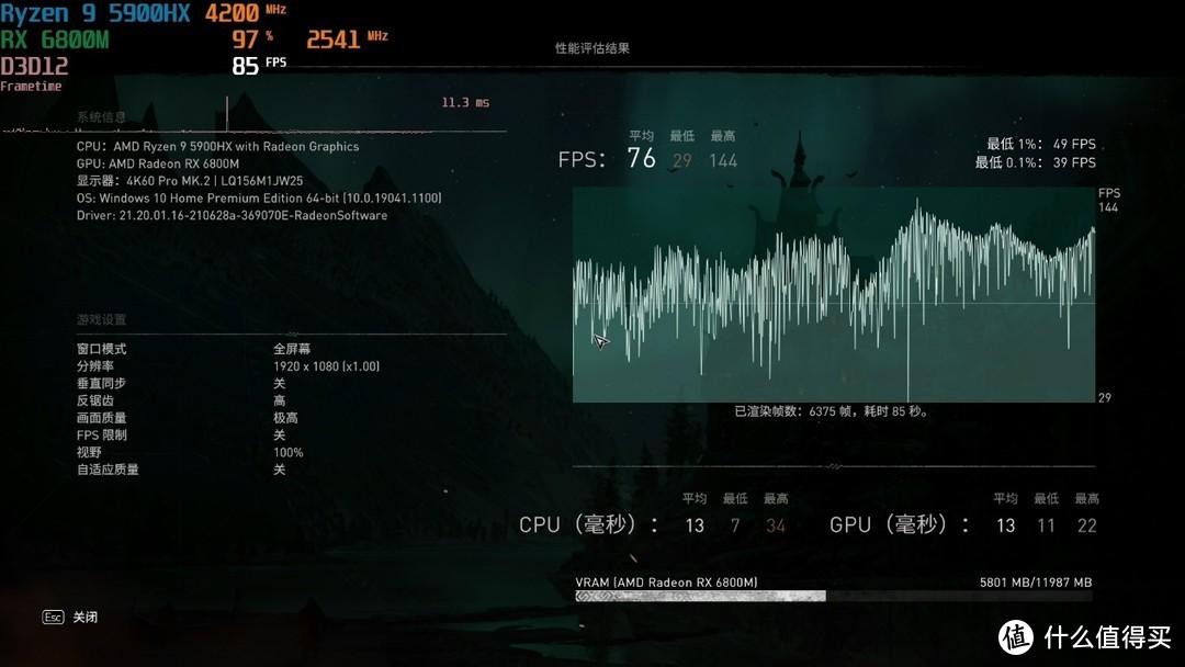 AMD树立游戏本性能新标杆华硕ROG魔霸5R评测
