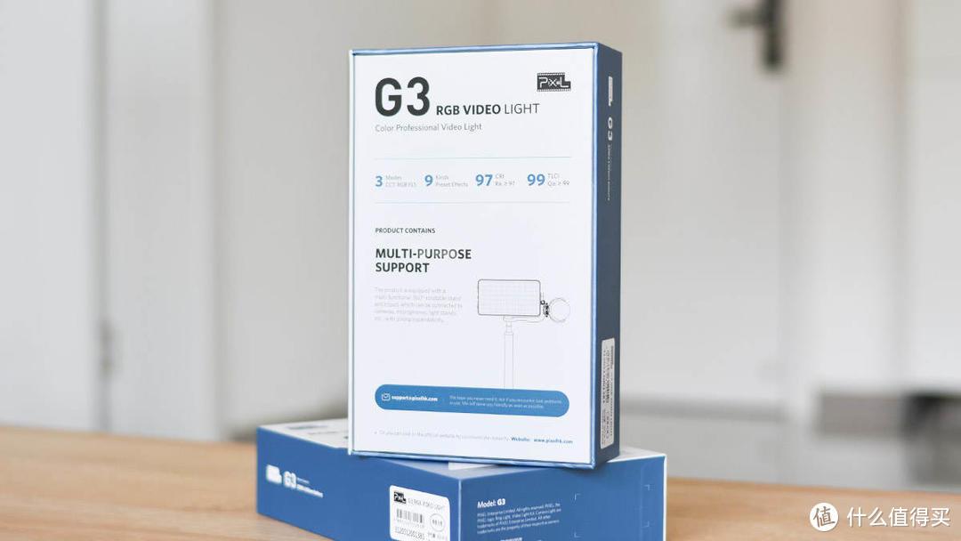 品色G3 RGB补光灯:自由形态 多彩情景