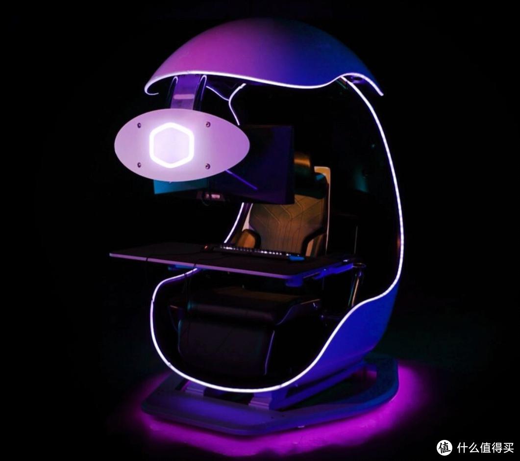 酷冷至尊发布 Orb X GamePod 电竞座椅,酷似魔蛋,顶级玩家专属座驾