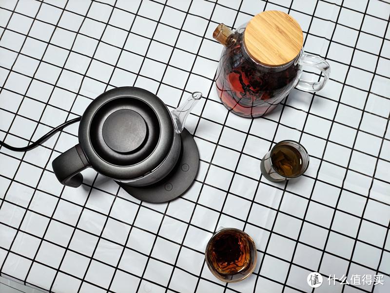 入一静音电水壶:调温+恒温,带来精致饮茶生活