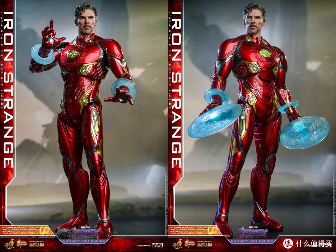 HotToys推出四款漫威可动人偶新品,居然有钢铁侠造型的奇异博士和战争机器版死侍