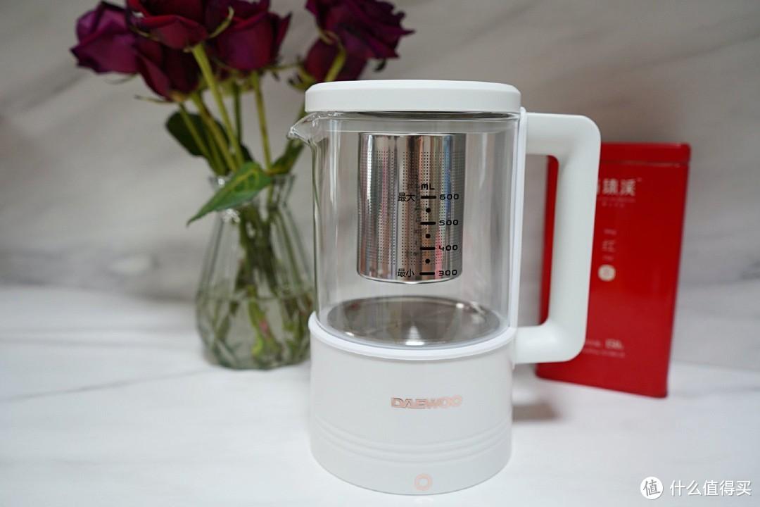豆浆、奶昔、果汁、养生茶一壶搞定—大宇轻养破壁机分享