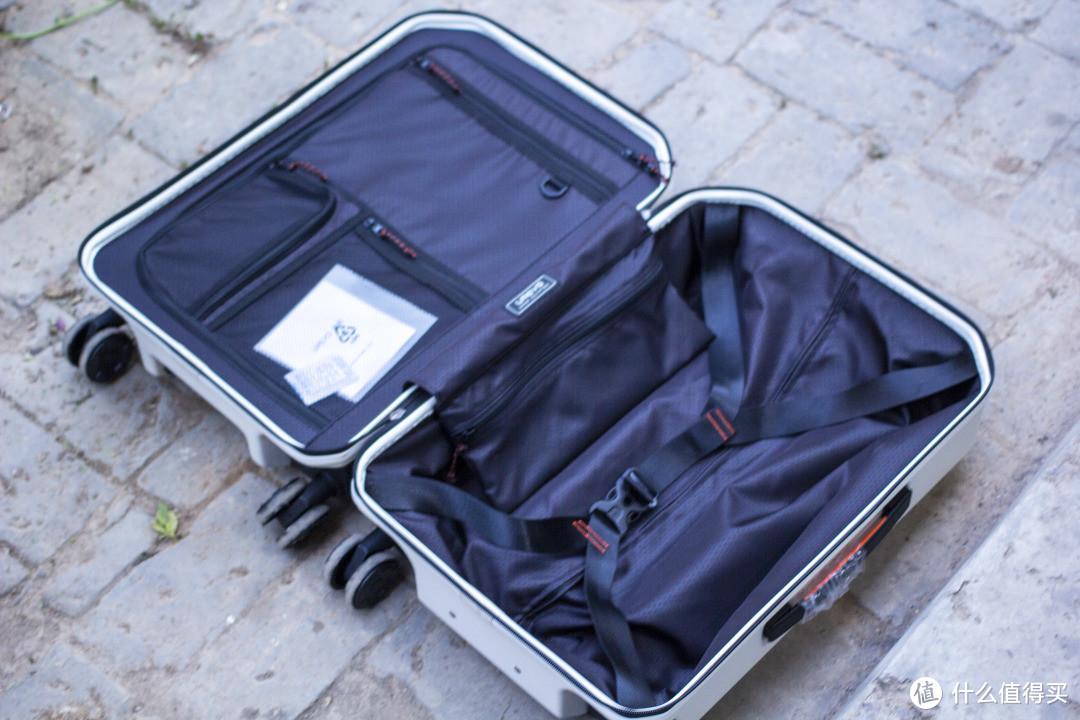 高颜值户外风,悠启撒哈拉旅行箱上手体验