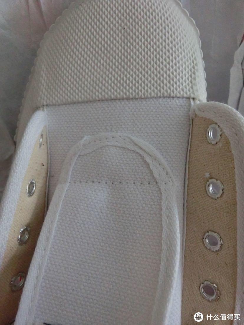 鞋舌工艺。