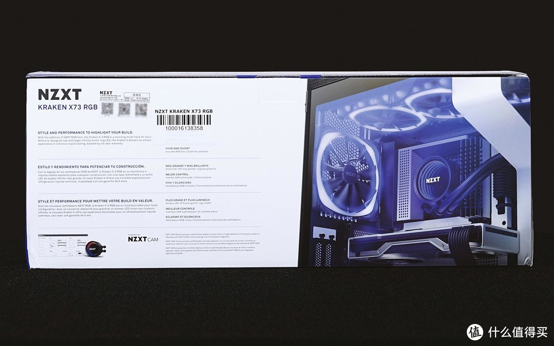 水冷与光的艺术,NZXT 海妖 X73 RGB 水冷散热器简评!