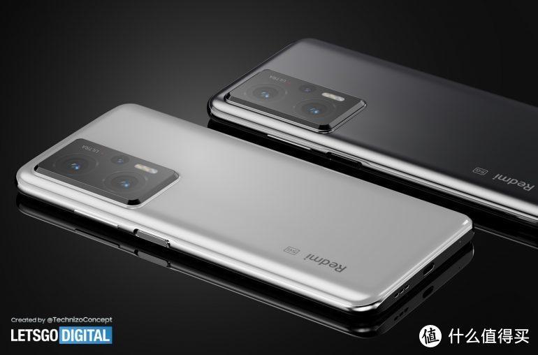 Redmi Note 11 Pro 概念图曝光:挖孔屏+矩阵三摄后置镜头