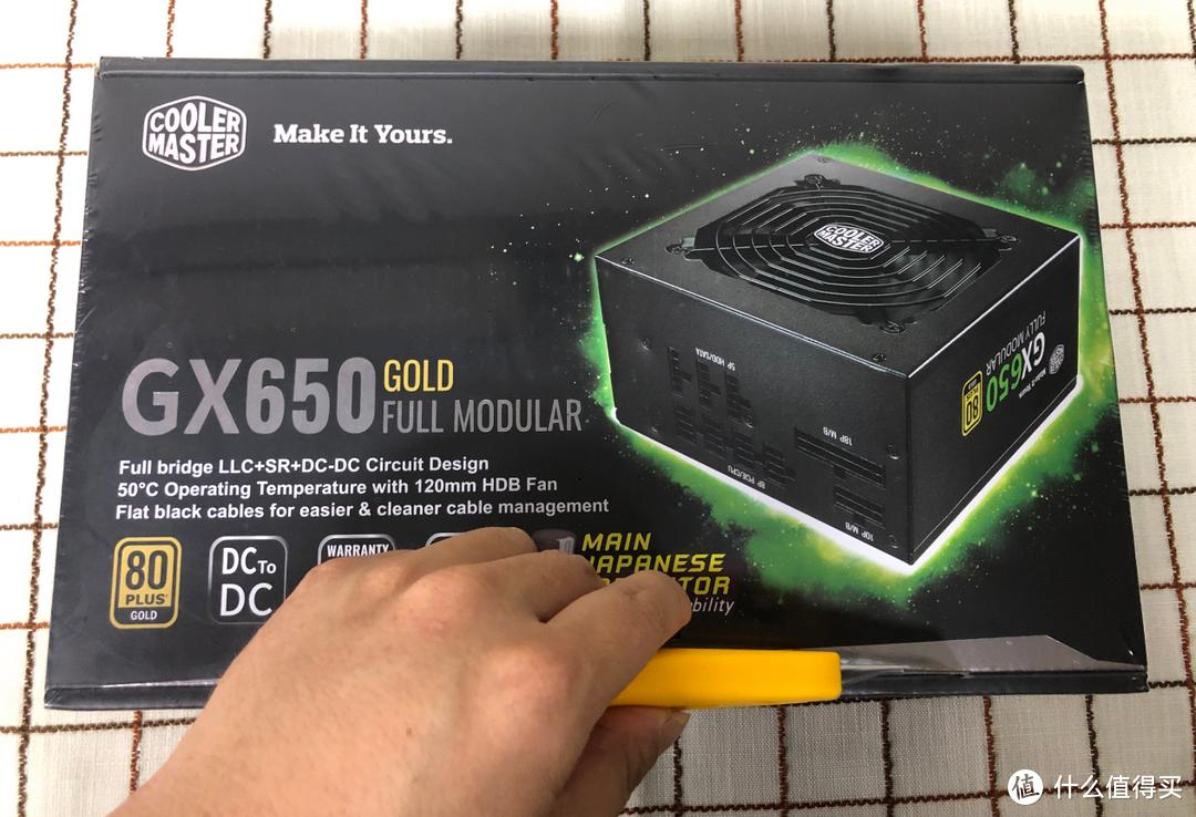 酷冷至尊GX650 80PLUS金牌全模组电源开箱