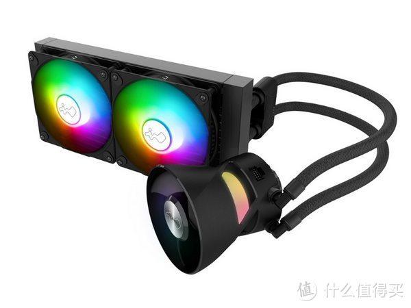 in Win 迎广发布 BR24/BR36 水冷散热器,水冷头带下压风扇像喇叭