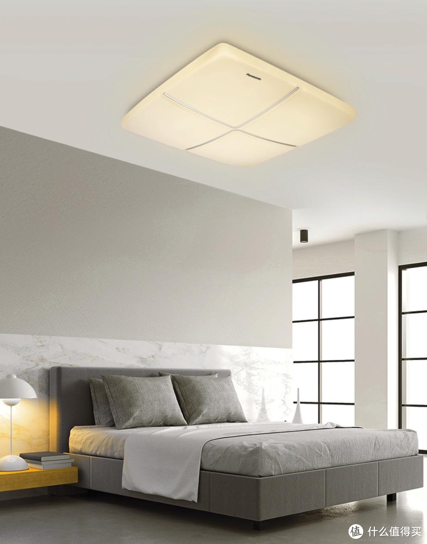 吸顶灯造型总是很无聊?这款松下创意吸顶灯,几何灯罩超有创意!