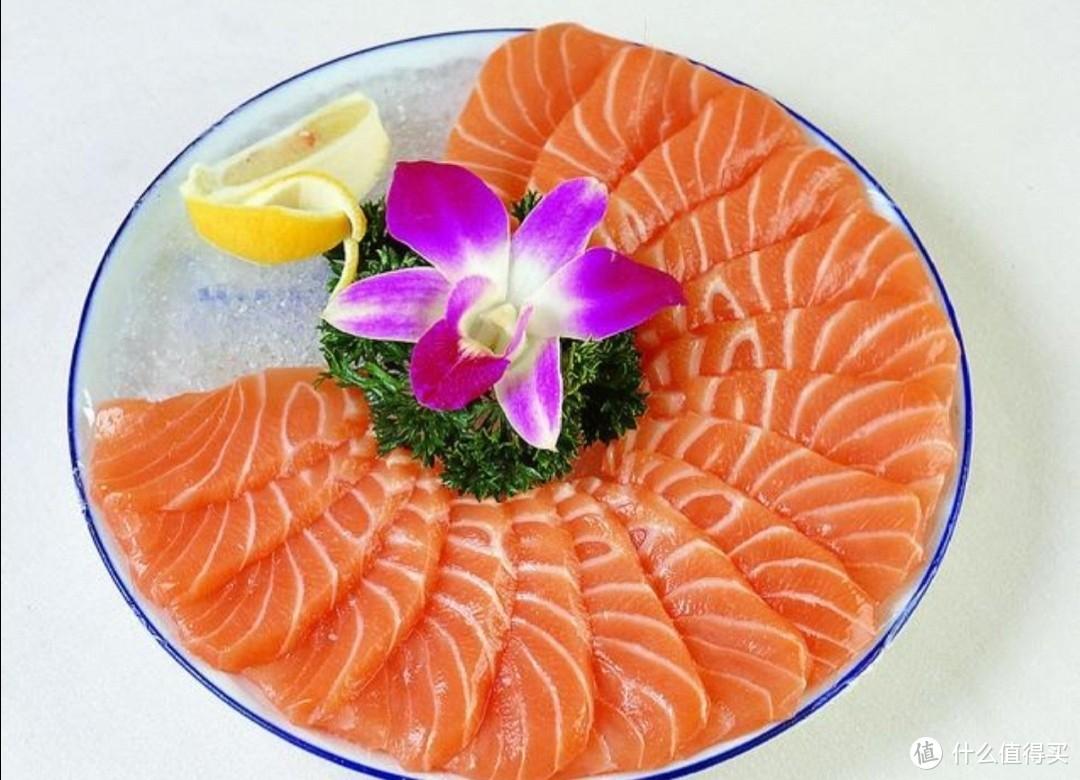 美丽的三文鱼
