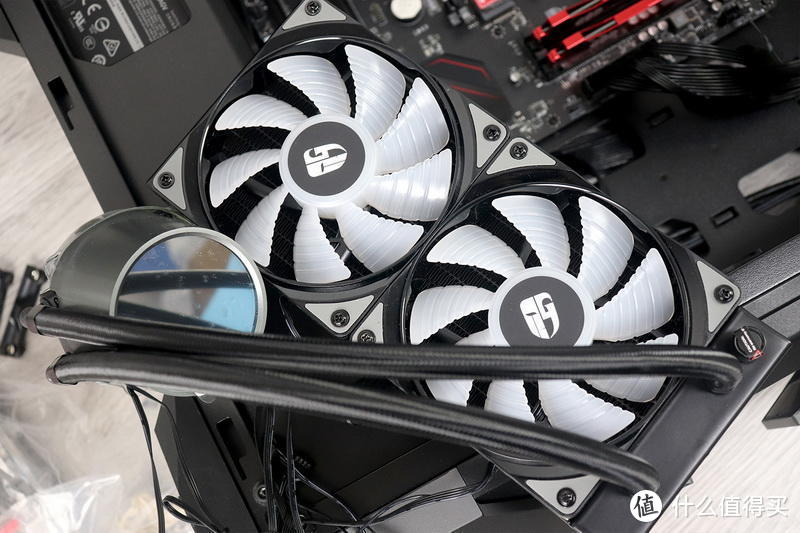 退役老电脑也很牛逼:九州风神堡垒240RGBV2一体式水冷装机体验