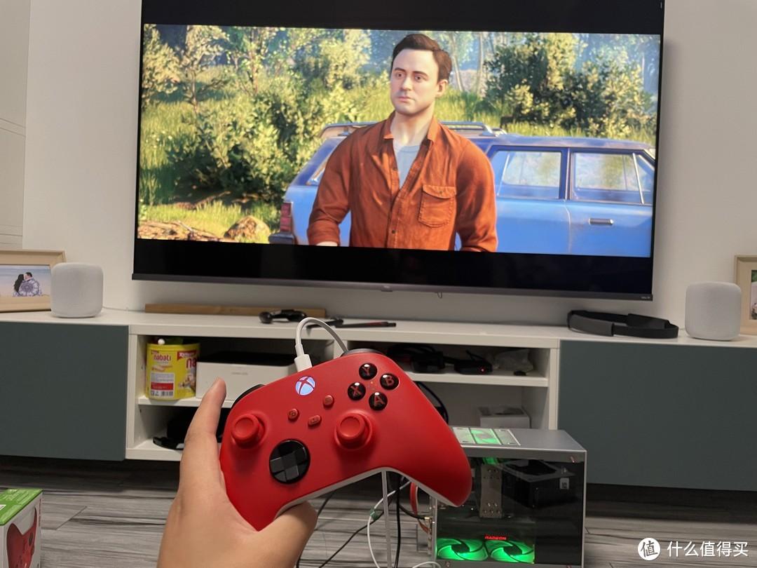 另类解锁双人成行——Xbox series X/S 黑/红手柄 开箱