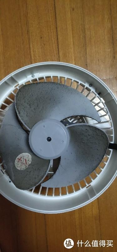 给日本爱丽丝空气循环扇,电风扇(拆机)清洗一下,拆机拆开清洗