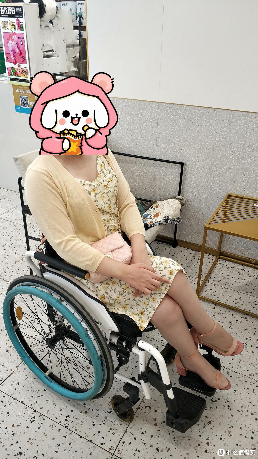 轮椅上的穿搭篇六:元气少女,妖精的口袋杨超越同款连衣裙