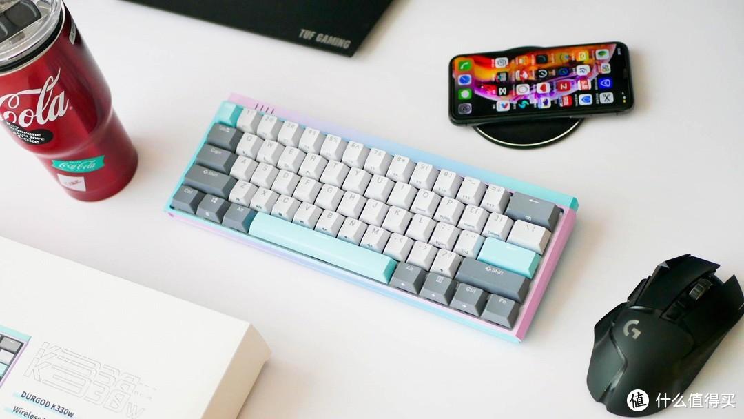 清凉色彩,缤纷暑期:杜伽K330W冰激凌配色无线机械键盘体验