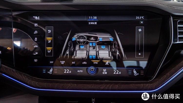 19大众途锐升级新款方向盘加热 投影门灯 全新大众logo标
