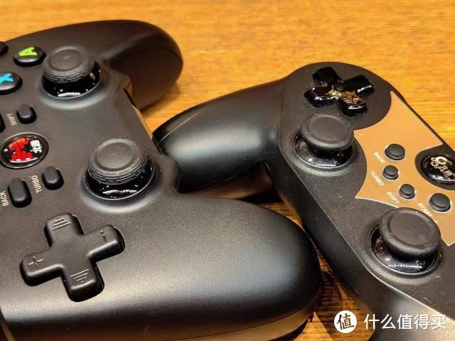新旧两代对比,北通蝙蝠4游戏手柄更加手感与交互体验