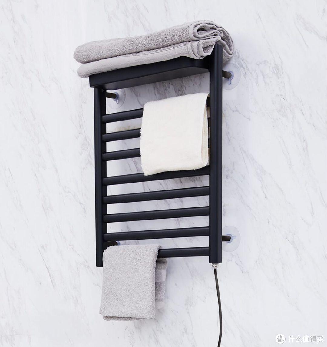 免打孔安装,干燥毛巾好健康,邦先生电热烘干毛巾架体验