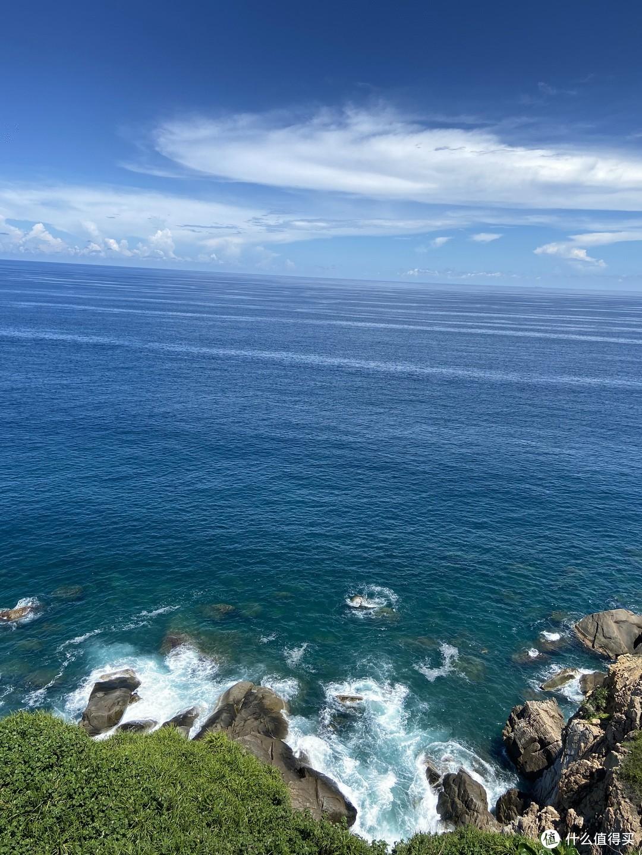 从酒店阳台望出去的景色,蓝到像假的,图片都是原图