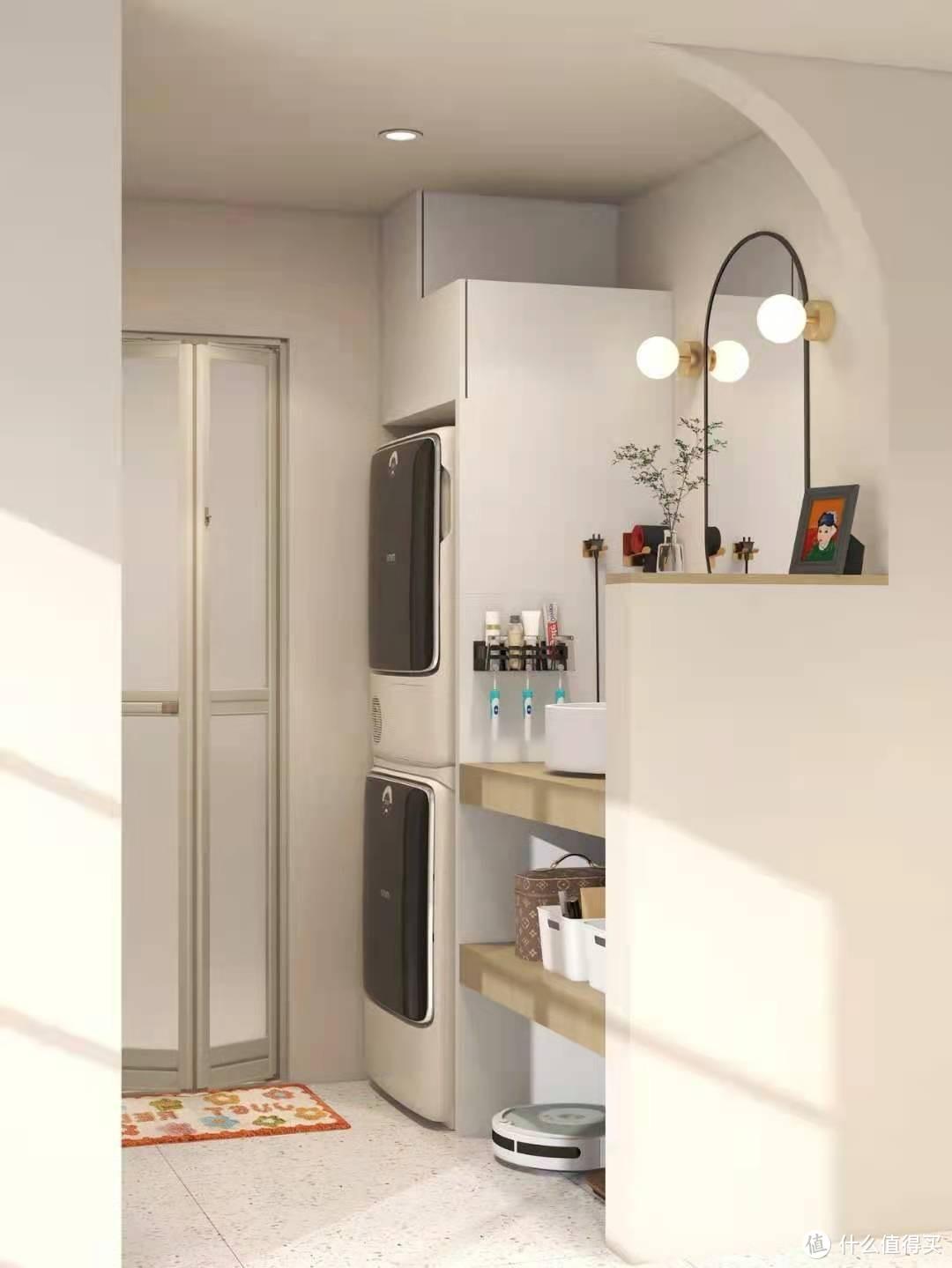 干区外移✨放下洗衣机,壁挂智能马桶颜值绝!