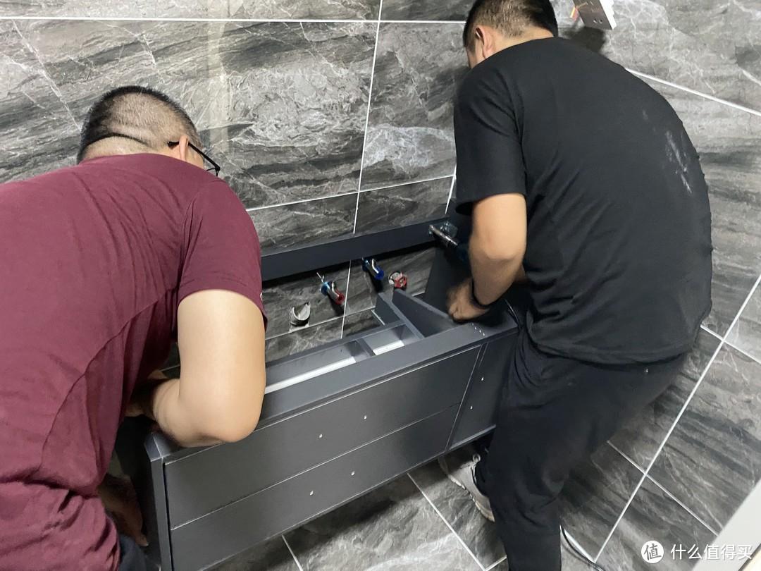 1688买浴室柜翻车了!!!浴室柜的坑有哪些???(这是我被坑的最惨的一次)
