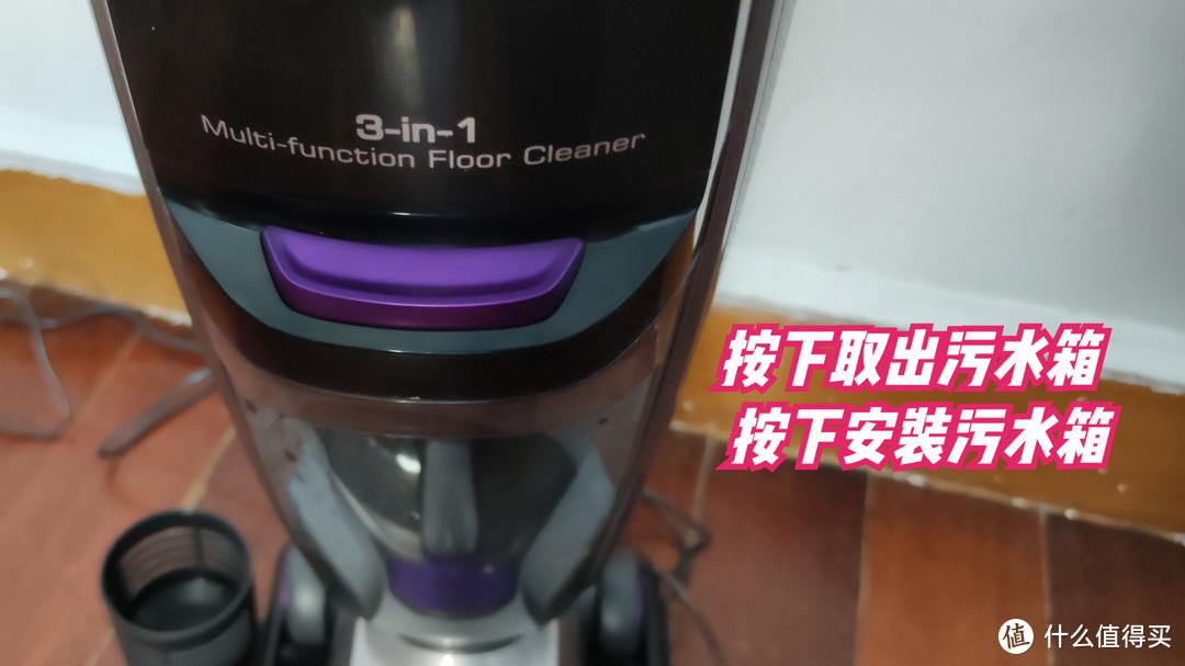 居家地面清洁好帮手吉米速干洗地机一洗净X8干湿拖扫一次过超方便