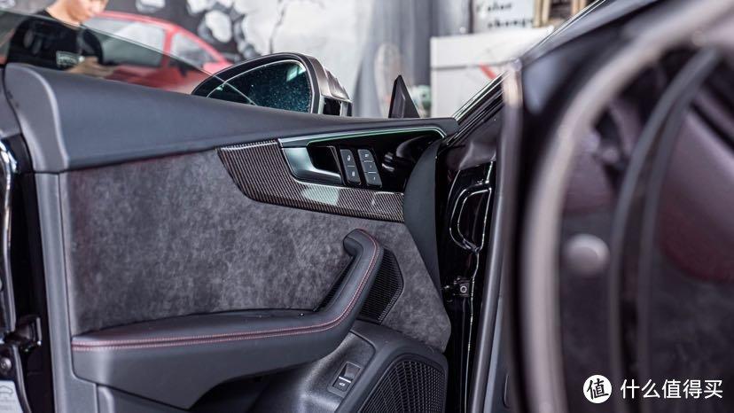 奥迪S5 升级R8方向盘副驾驶液晶碳纤维内饰 个性化定制