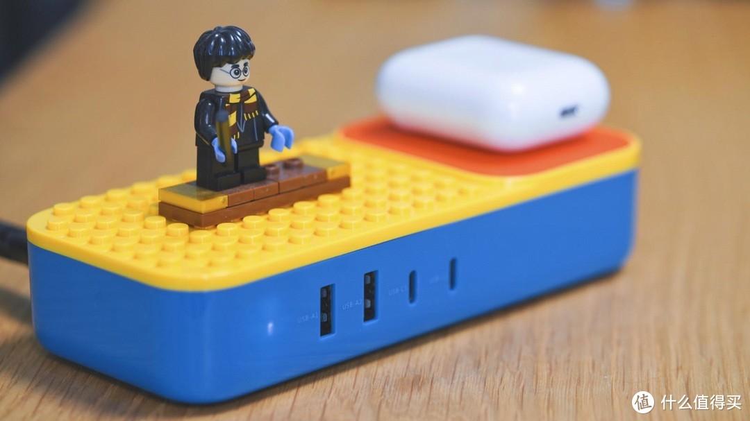 桌面充也能积木化?有线无线全家桶,另送盲盒积木